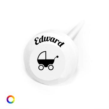 Bolle Lollie geboortebedankjes Kinderwagen