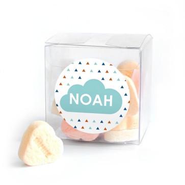 Candy Cube geboortebedankjes Simply Baby