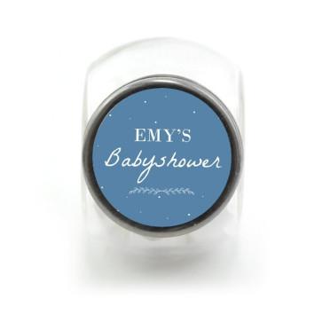Candy Jar Geboortebedankjes Dreaming Blauw