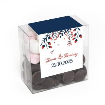 Chocolate Mellow Box Winter Wedding