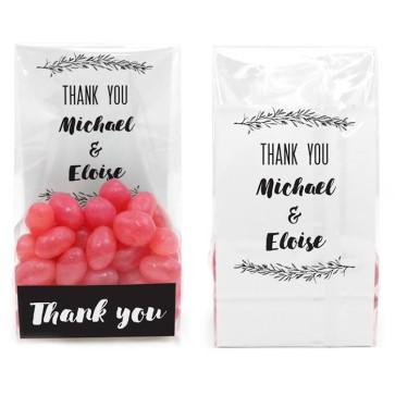 Clear Sweet Bag Huwelijksbedankje Mistletoe