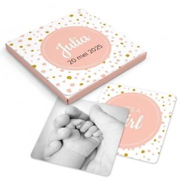 Memory Spel Geboortebedankjes Simply Baby