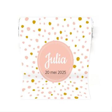 Mini Mint to Be geboortebedankje Pink Perfect