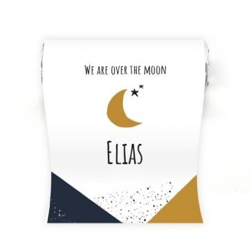 Mini Mentos Geboortebedankje Over the Moon