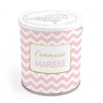 Mini Pringles Communie Bedankje Gold Confetti