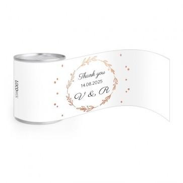 Go nuts huwelijksbedankje Flower Crown