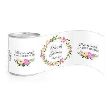 Go nuts huwelijksbedankjes Bohemian Flowers