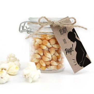 Weckpotje Popcorn Popping Love