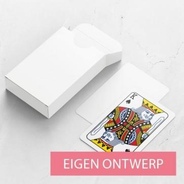 Gepersonaliseerde speelkaarten huwelijksbedankje - Eigen ontwerp - kaarten