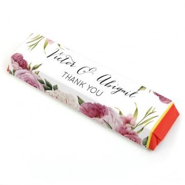Tony Chocolonely huwelijksbedankje Watercolour Roses