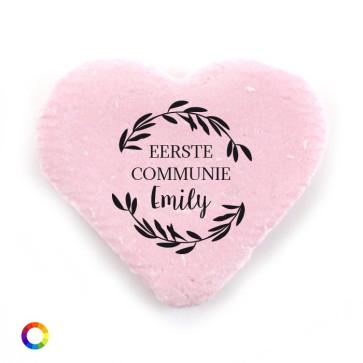 Vruchtenhartjes Groot communie bedankjes  Wreath