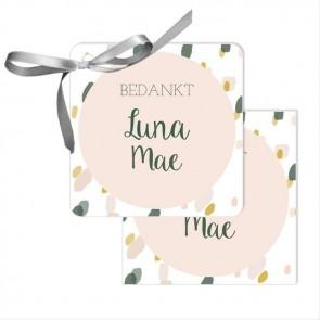 Blushed Bedankkaartjes - Roze