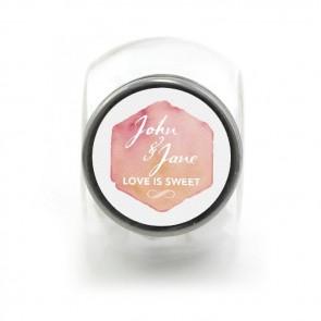 Candy Jar Huwelijksbedankje Watercolour Love