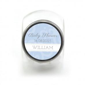 Candy Jar Geboortebedankjes Classic Baby Blauw