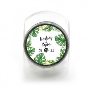 Candy Jar Huwelijksbedankje Botanical
