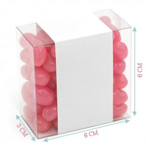 Pink Balloon Candy Square
