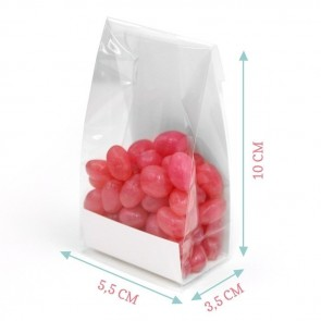 Pink Balloon Clear Sweet Bags