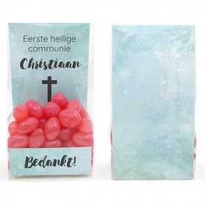 Watercolour Cross Clear Sweet Bags