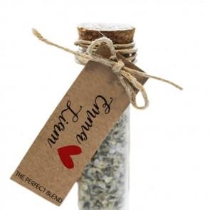 Herbal Gift Tubes huwelijksbedankjes Heart