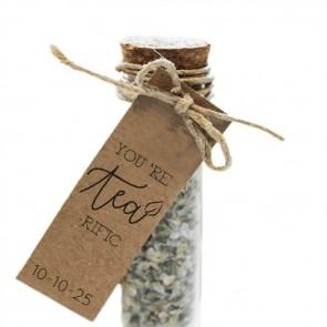 Herbal Gift Tubes huwelijksbedankjes Tea-Rific