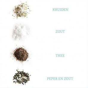 Salt & Pepper Herbal Gift Tubes