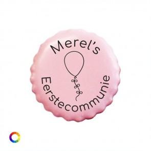 Bedrukte Likkoekjes Communie Bedankjes Ballon