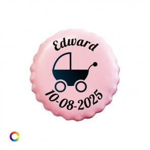 Likkoekje Geboortebedankje Kinderwagen