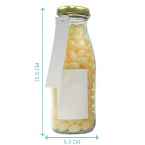 Gold Confetti Melkfles Snoep