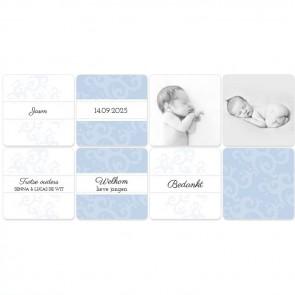 Classic Baby Memory - Blauw