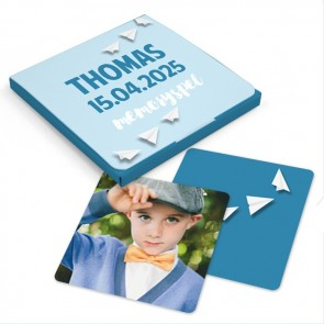 Memorty spel Communiebedankje Paper Planes