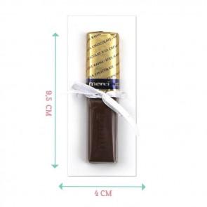 Doodle Merci Chocolaatje - Blauw