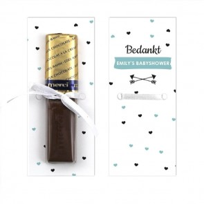 Heart Dots Merci Chocolaatje