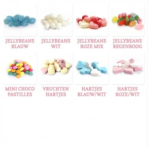 Regenboog Candy Tube