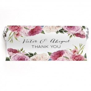 Mint To Be Huwelijksbedankje Watercolour Roses