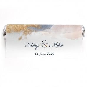 Mint To Be Huwelijksbedankje Gold Watercolour