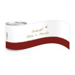 Go nuts huwelijksbedankjes Bordeaux Paint
