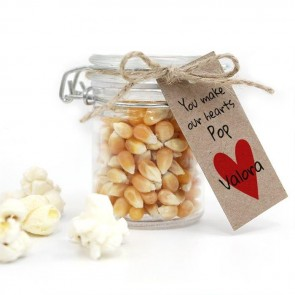 Weckpotje Popcorn Our Hearts