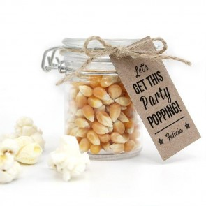 Weckpotje met Popcorn Communie Party Popping
