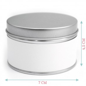 Botanical Round Tin