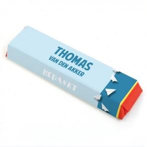 Tony Chocolonely Communie bedankje Paper Planes