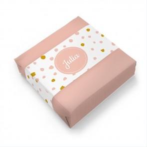 Zeep Geboortebedankje Pink Perfect