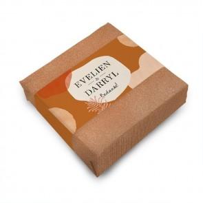 Zeep huwelijksbedankje Salted Caramel
