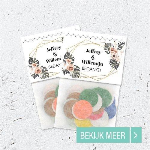 Goedkope Huwelijk bedankjes Flowerbags