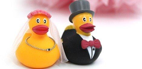 badeendjes-bruidspaar-huwelijksbedankjes