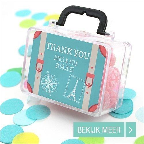 Sale bedankje Mini Suitcase