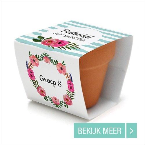 bloempotje-communiebedankjes