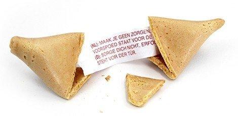 Fortune Cookie huwelijksbedankjes
