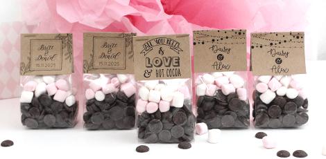 Hot Cocoa Pack huwelijksbedankjes