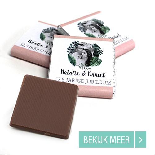 Jubileum Mini Chocolade