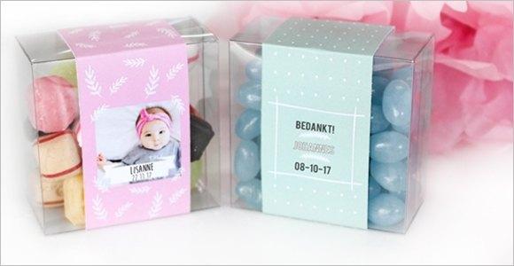 Bestellen Bedankjes geboorte